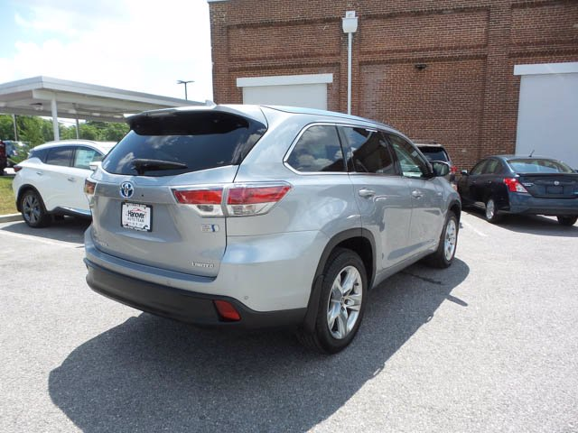 Certified Pre-Owned 2016 Toyota Highlander Hybrid Limited Platinum